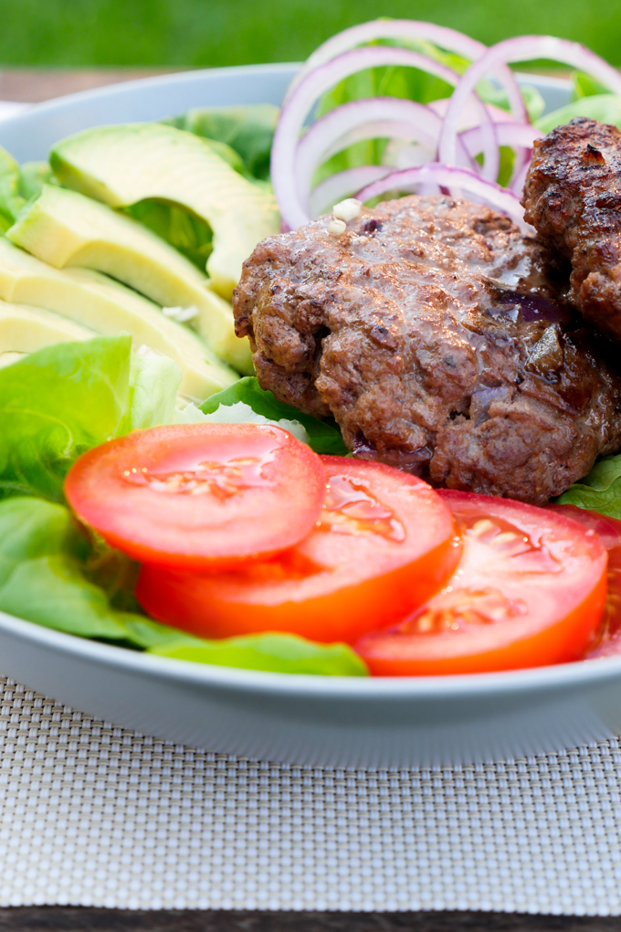 Fast Low Carb Recipe - The burger from the dish
