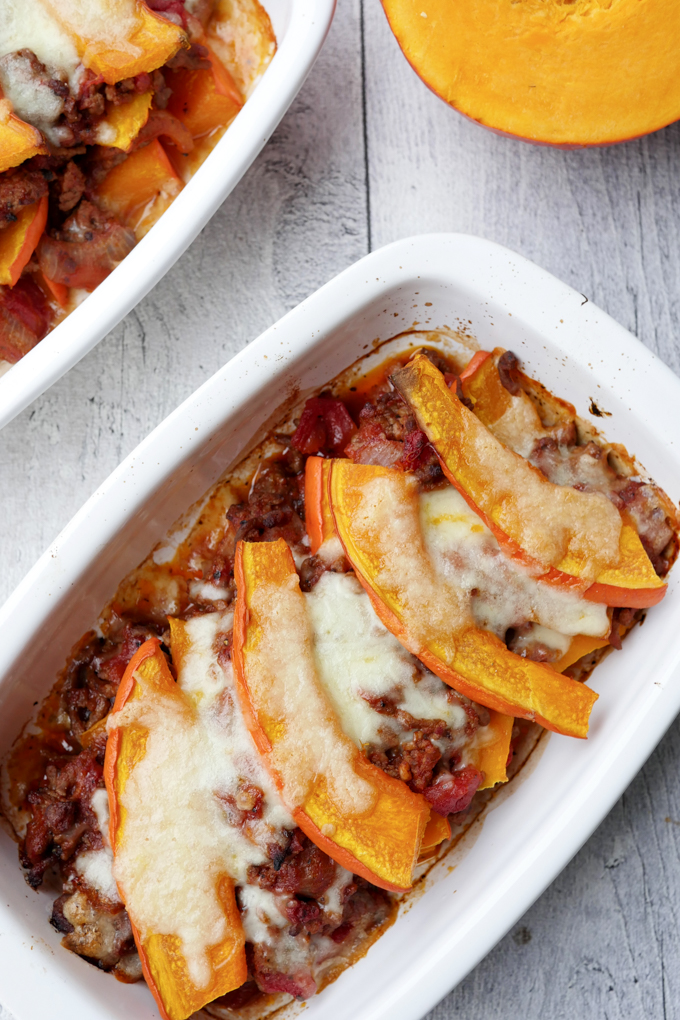Fast Low Carb Pumpkin Casserole