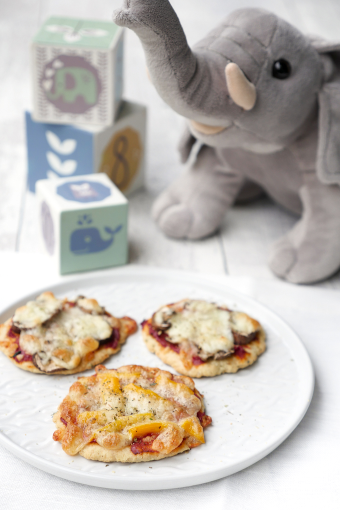 Healthy Pizza for Babies and Toddlers - Simple and Fast BLW Recipe