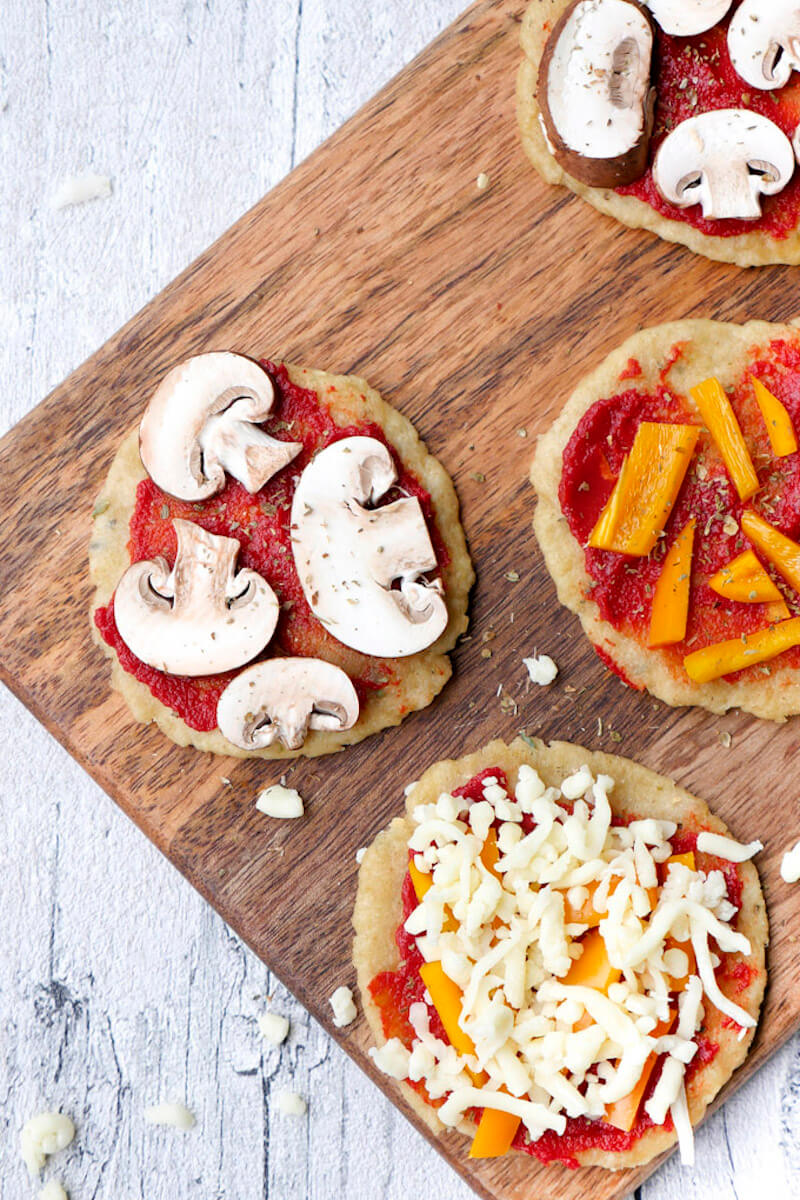 Healthy and Delicious Kids Pizza - A Very Quick Recipe for Children