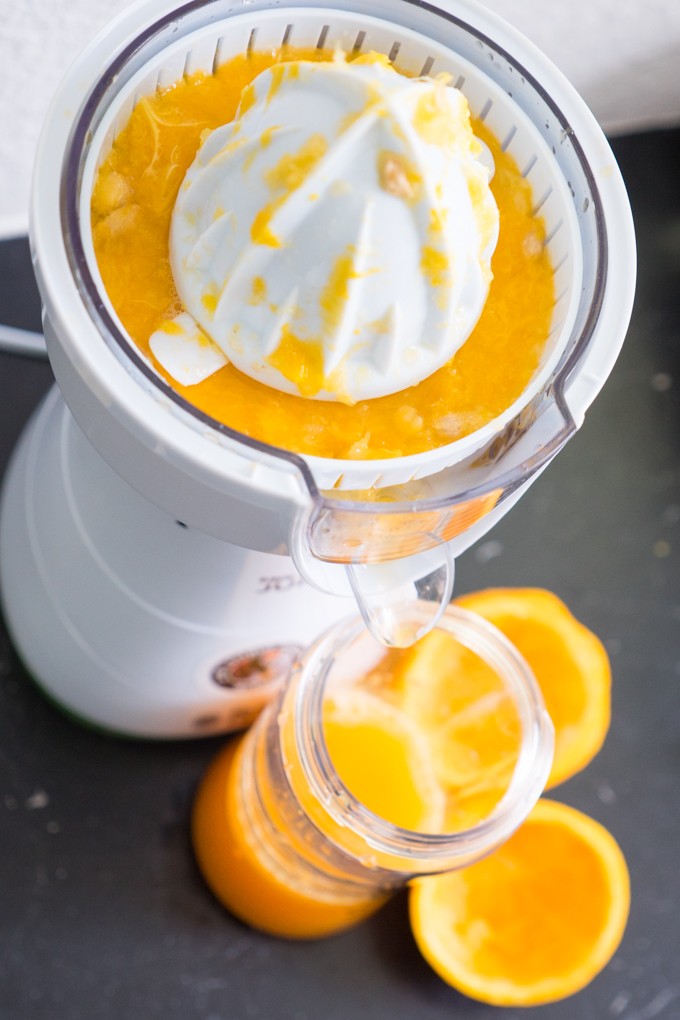 Russell Hobbs citrus press and smoothie maker in one device